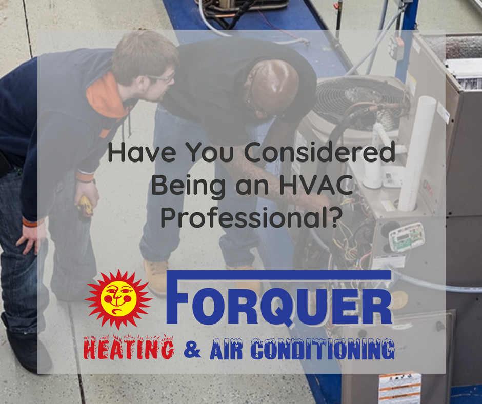 Forquer urges people to consider HVAC trade | Akron, OH
