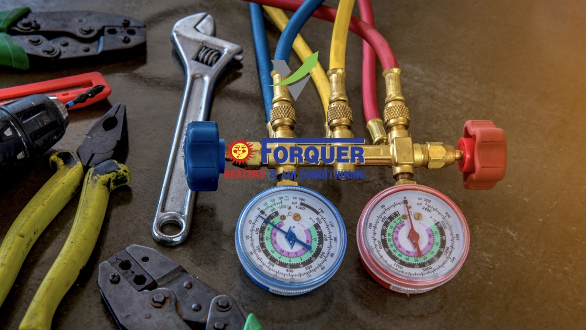 heating and cooling repair around Akron, Ohio | Forquer