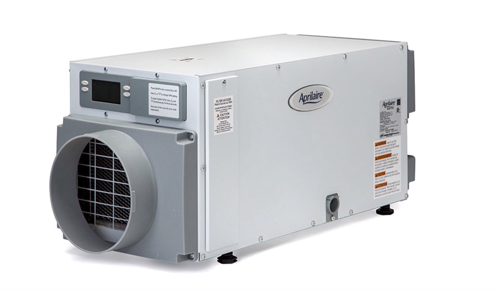 A dehumidifier can help keep your office or restaurant comfortable if you have an oversized ac unit
