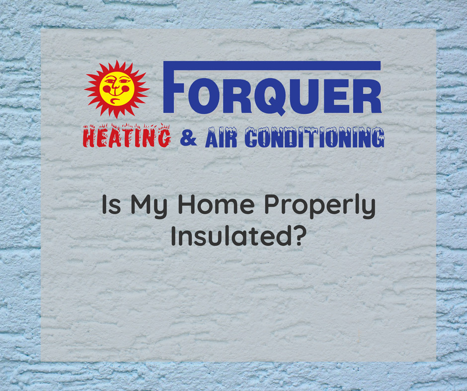 Is My Home Properly Insulated