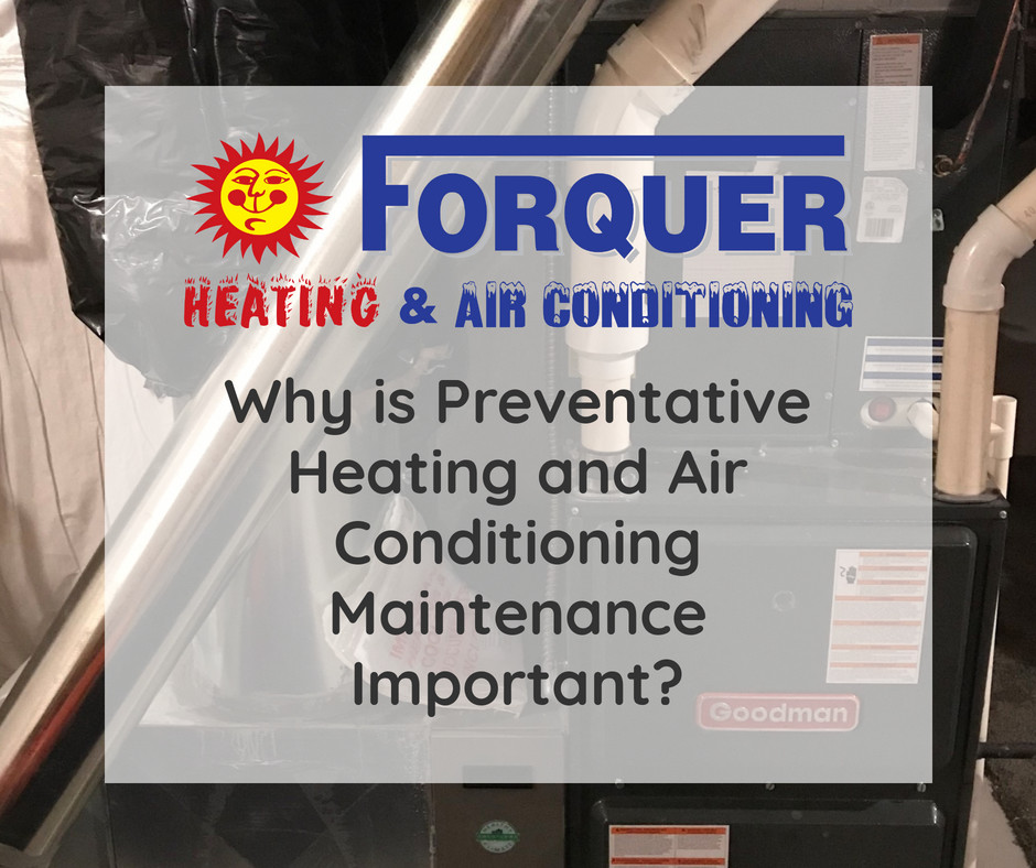 Preventative Maintenance for Heating and Cooling