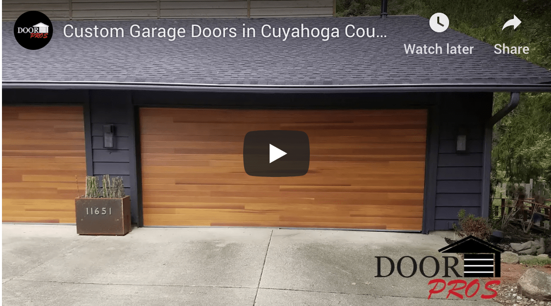 Custom Garage Doors in Cuyahoga County | A Look at Our Projects
