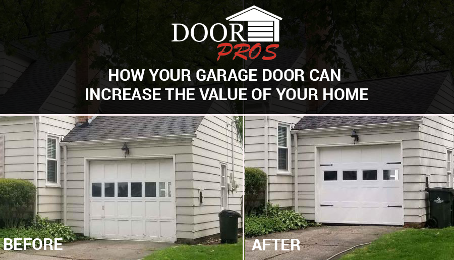 How Replacing Your Garage Door Can Increase the Value of Your Home