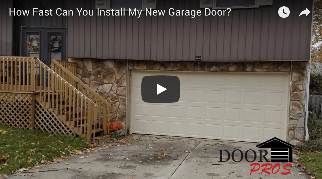 How Fast Can You Install My New Garage Door