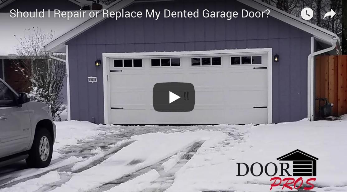 Should I Repair or Replace | Door Pros