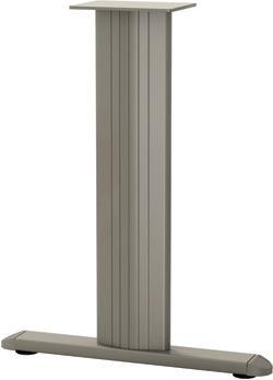 osceola series oval table t-leg base