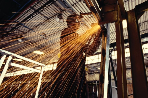 Guy welding | Guy Hurley