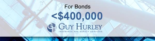 Bonds < $400k | Guy Hurley