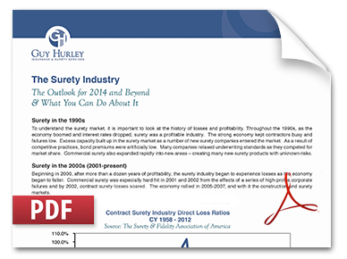 Surety Industry Trends-Surviving The Recovery