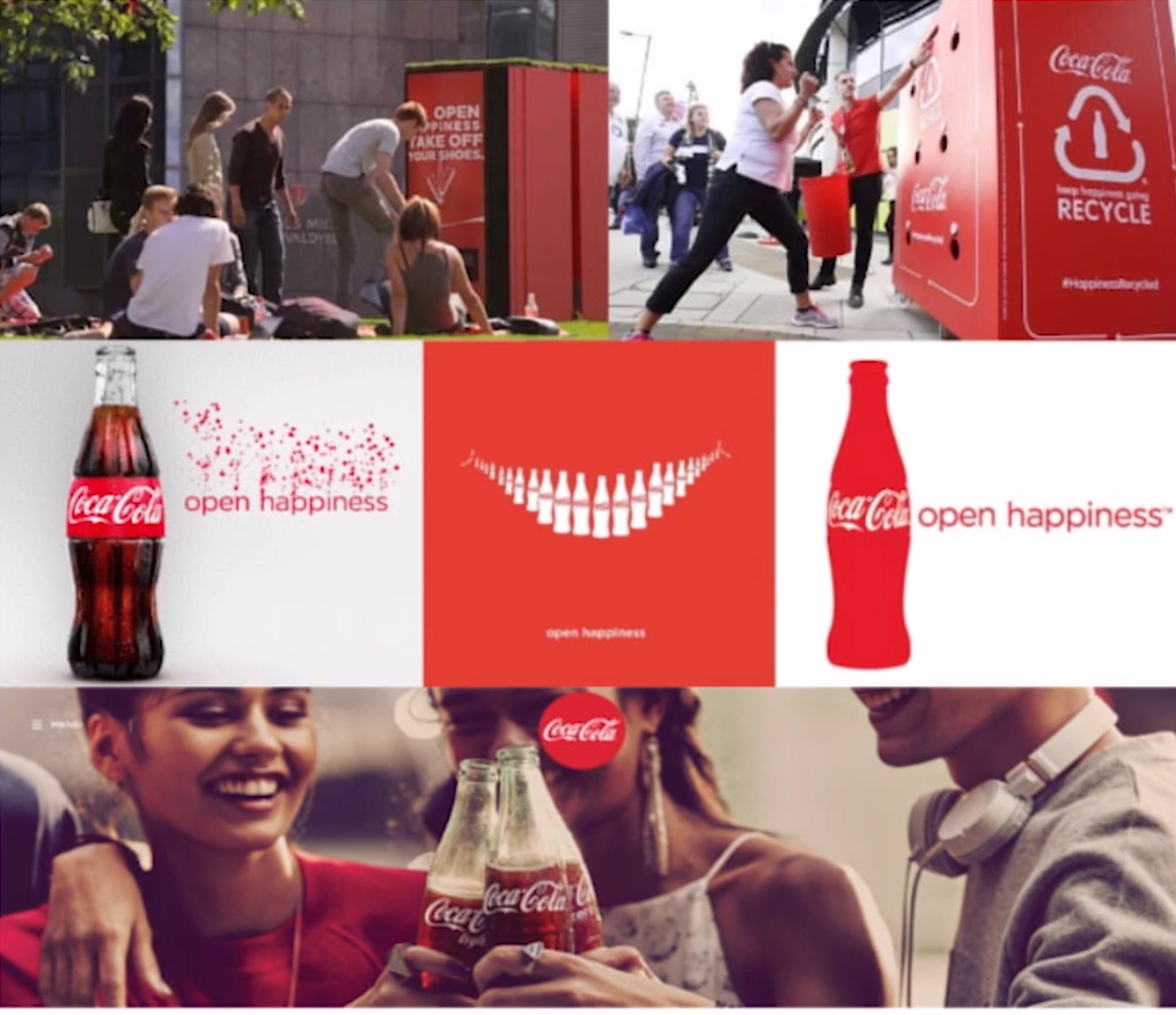 GLS Group shares Coca-Cola's Open Happiness campaign as an example of a brand with a strong voice
