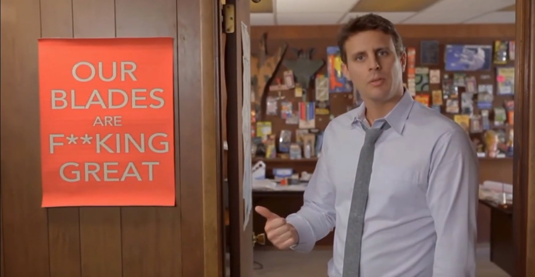Dollar shave club has a very strong brand voice| GLS Group