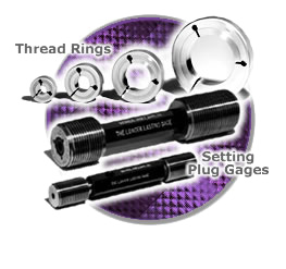 Master Setting plugs and thread rings