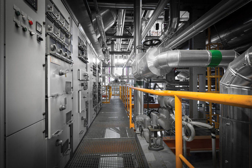 Industrial construction of piping systems