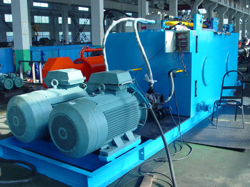 Hydraulic oil reservoir chemical cleaning   Hydrosol System
