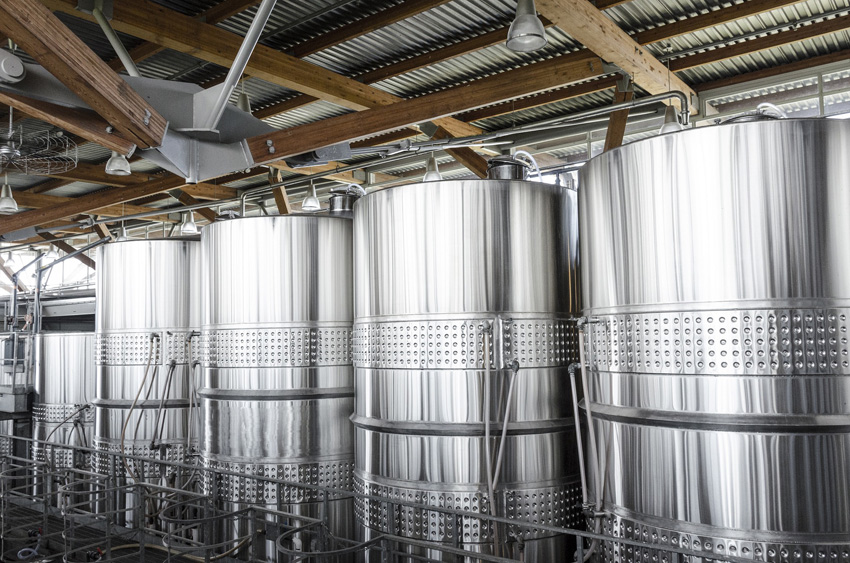 Electropolishing stainless steel tanks and piping. | hydrosol system