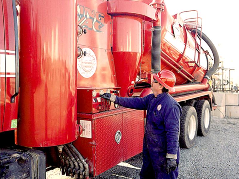 Hydrosol System liquid ring vacuum trucks.