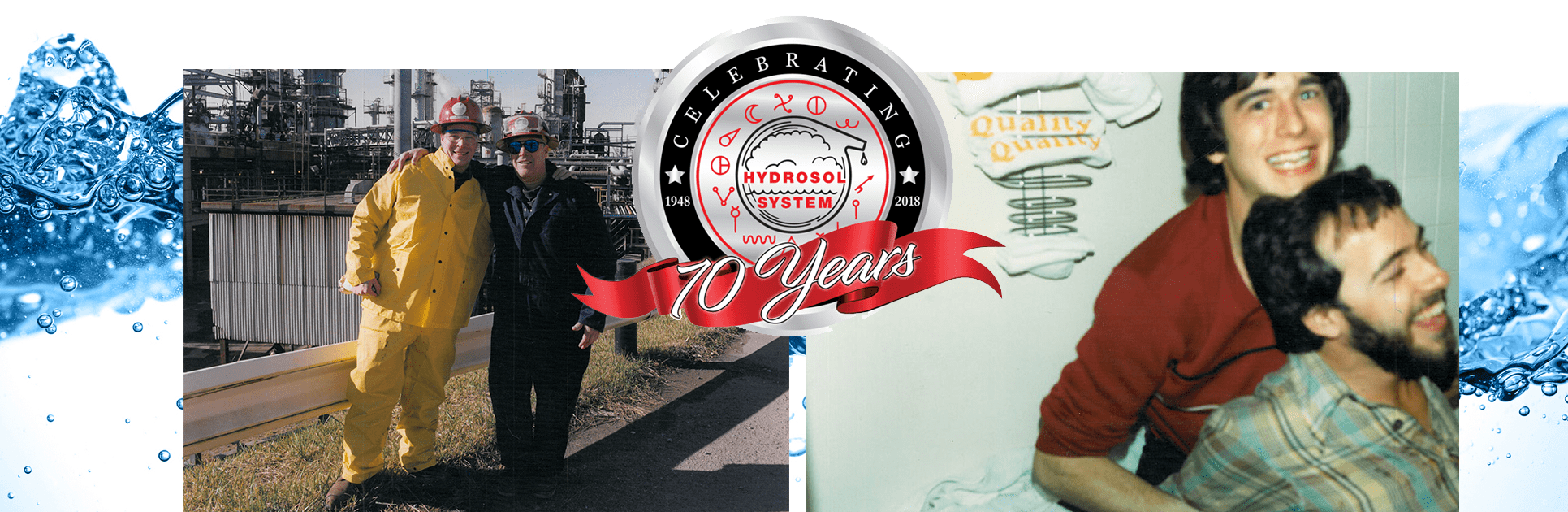 Hydrosol is Celebrating 70 Years!