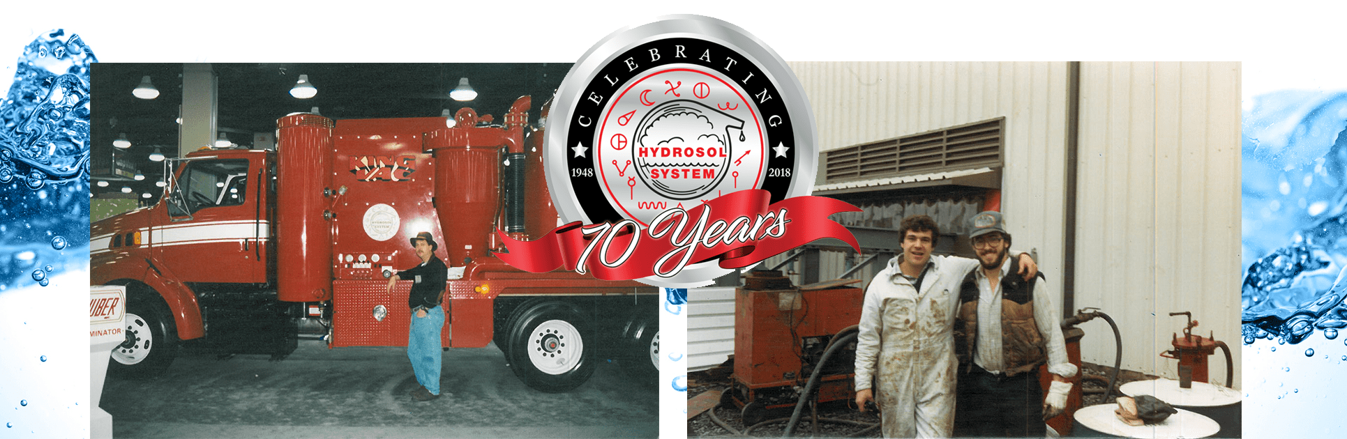 Hydrosol is Celebrating 70 Years!