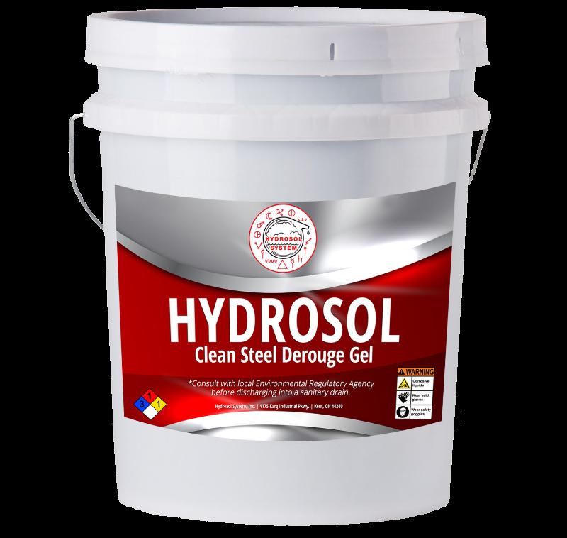 Clean Steel Derouge Gel | Hydrosol System