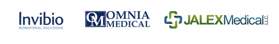 Invibio biomaterial solutions, omnia medical, jalex medical