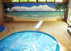 Pool Room Mural