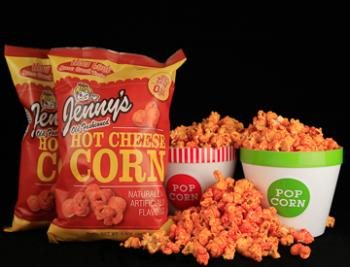Hot Cheese Corn, 3.5 Oz   Case of 12 Bags
