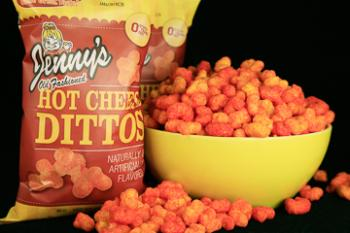 Hot Cheese Dittos, 5 oz   Case of 12 Bags