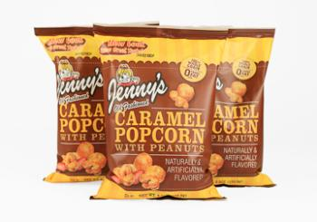 Peanut Caramel Corn, 5.5 Oz   Case of 12 Bags