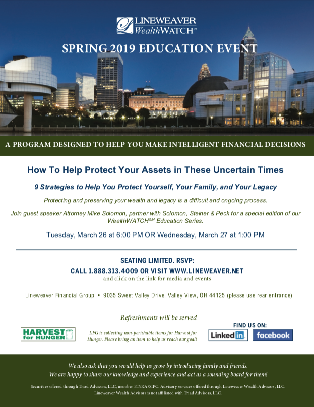 Spring 2019 Education Event
