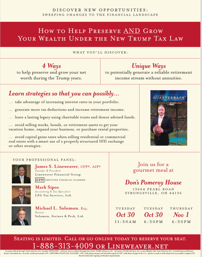 How to Help Preserve and Grow Your Wealth Under the New Trump Tax Law