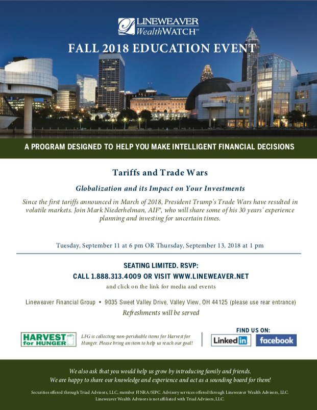 Fall 2018 Education Event