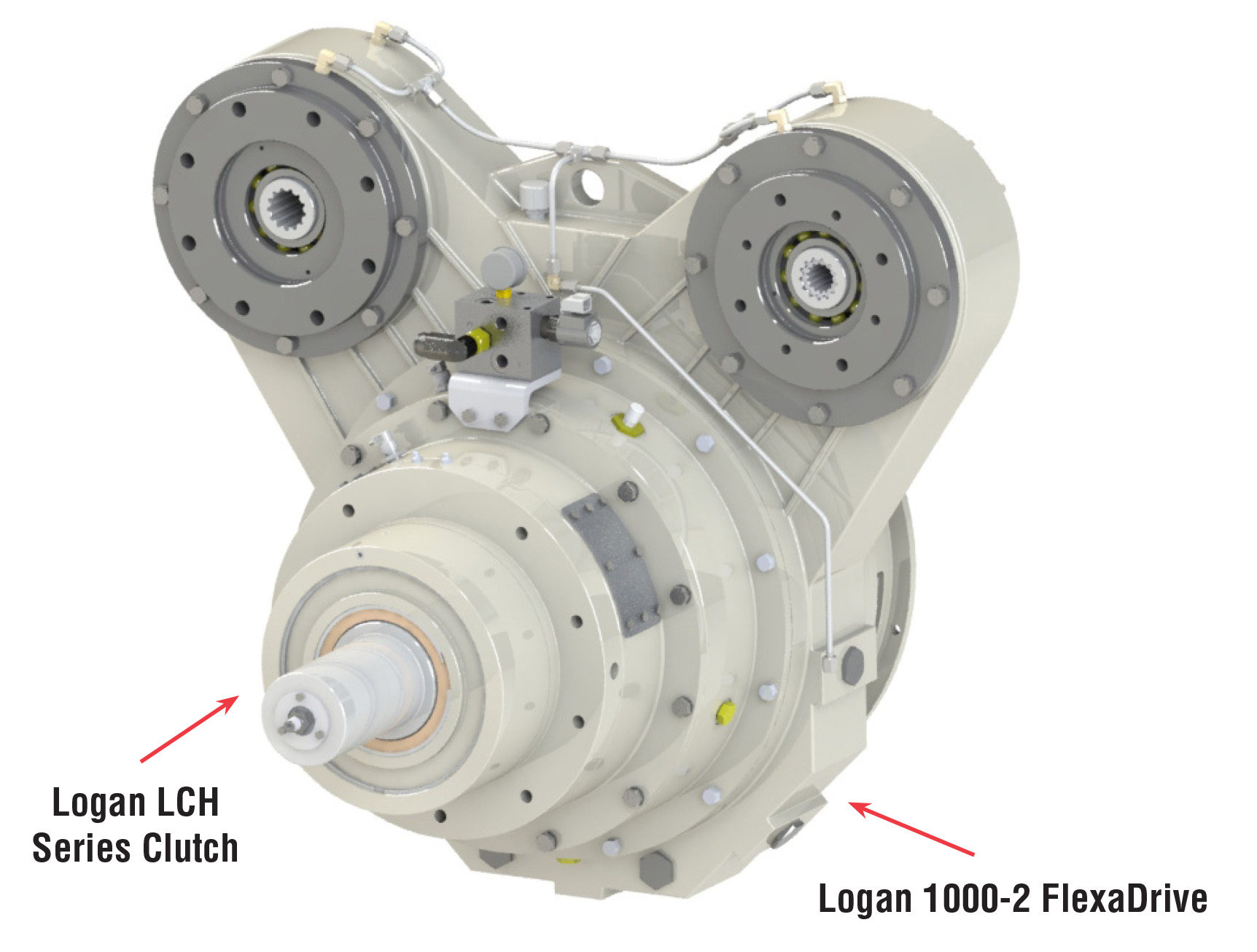 2 Position Pump Drive 100 HP | Logan Clutch