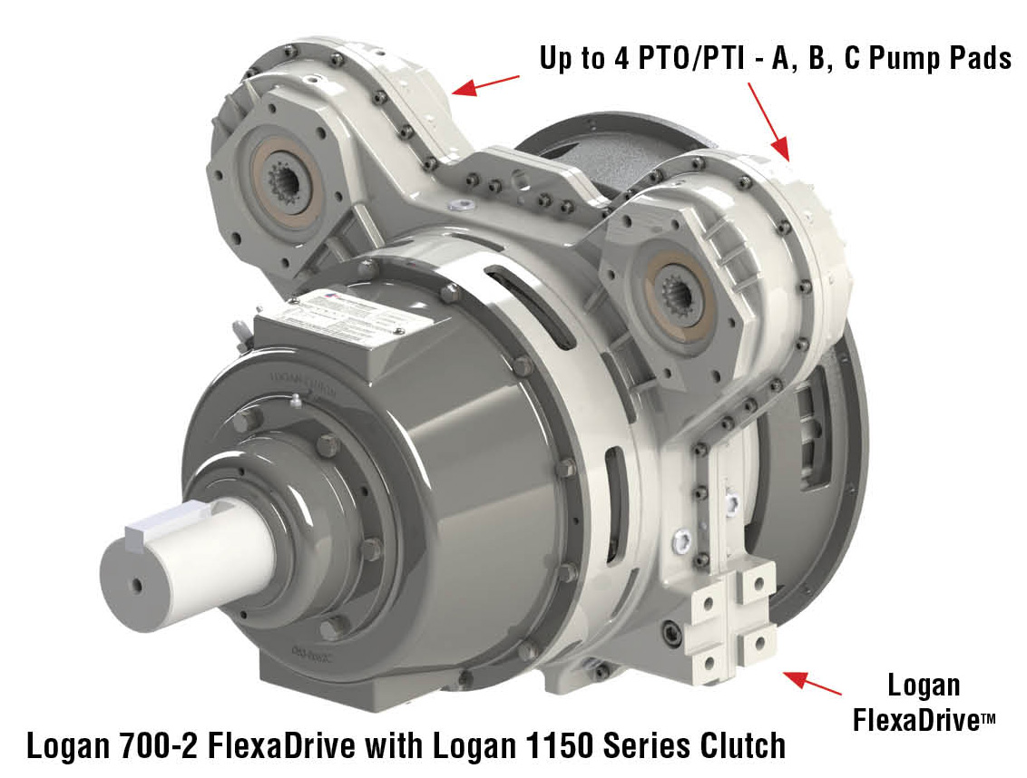 FlexaDrive 2-position pump drive system | logan clutch