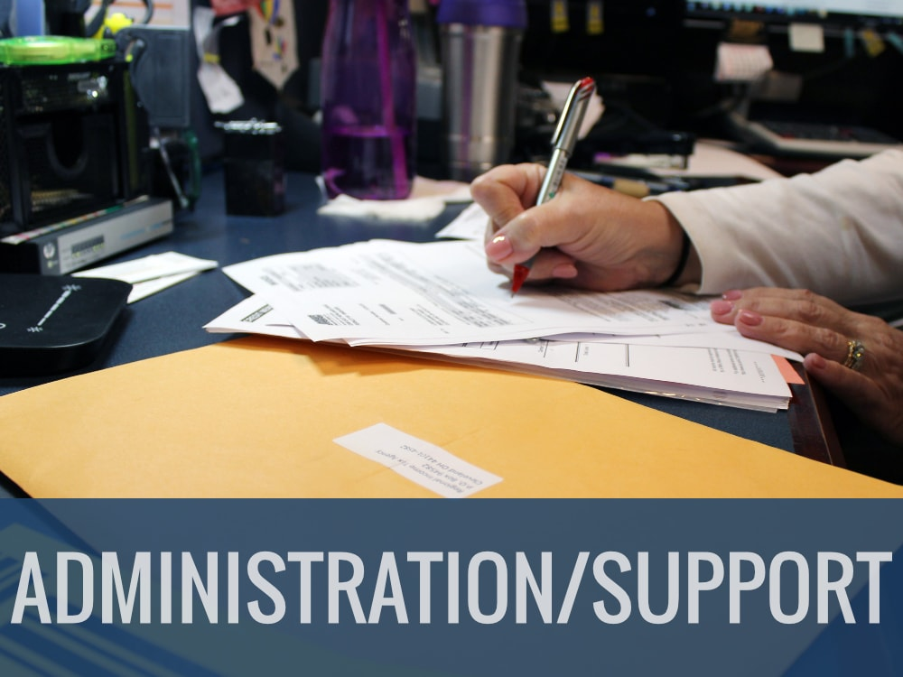 Administration / Support Careers | Logan Clutch