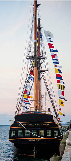 Oliver Hazard Perry sets sail with Logan Front of Engine PTOs
