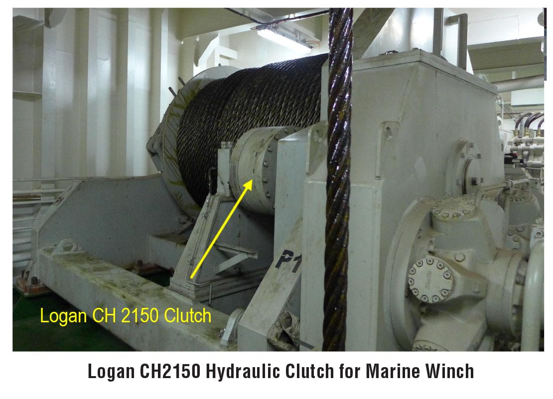 Hydraulic Clutch for Marine Winch