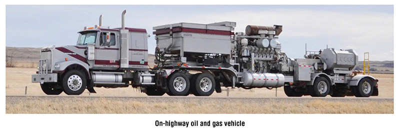 ON-Highway oil and gas vehicle Power Take Off Clutch
