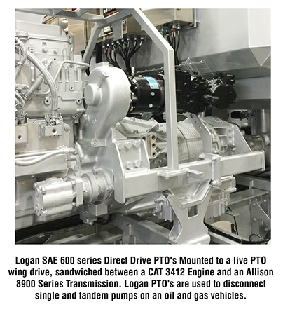 Power Take Off (PTO) Clutches   Oil and Gas Applications