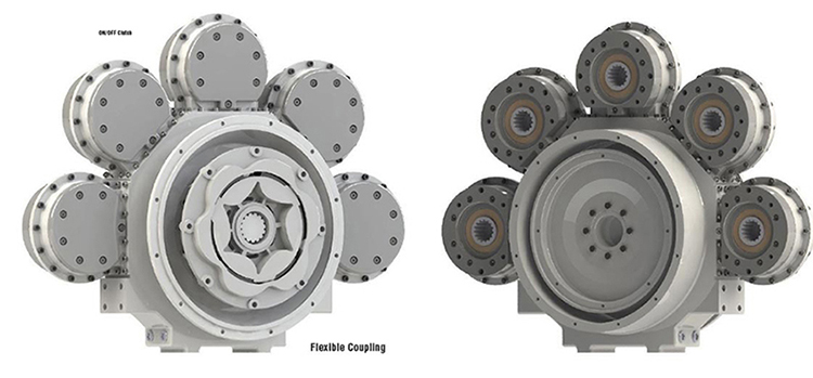 Logan FlexaDrive 5-Position Pump Drive Systems | Logan Clutch