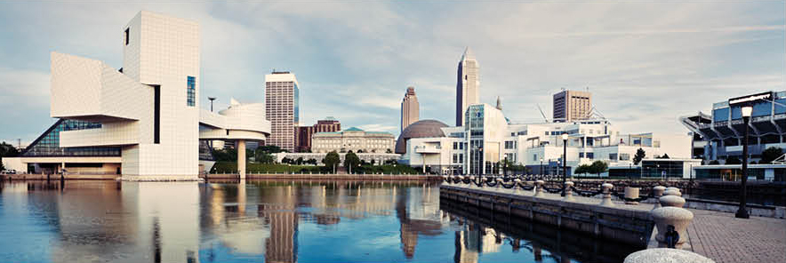 Cleveland Skyline | Logan Clutch
