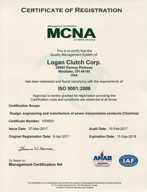 MCNA Registration for Logan Clutch