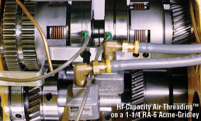 Logan Hi Capacity Air Threading Clutches