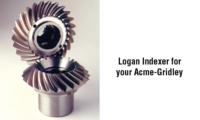 Spiral bevel gears. Logan INdexer for your Acme Gridley