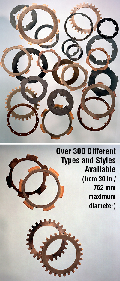 Over 300 Different Types and Styles Available  (from 30 in /  762 mm  maximum  diameter)