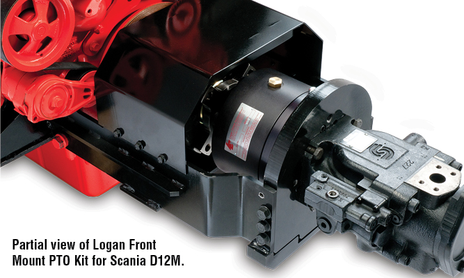 1000 lb. ft. / 1356 Nm of Torque @ 110 psi / 7.6 bar 570 HP / 425 kW Maximum  HP Maximum engagement speed is 1800 RPM with Logan soft start feature