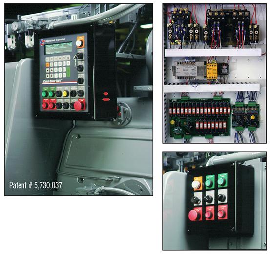 CS2001 complete machine control