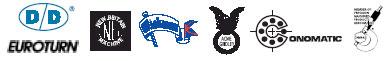 major screw machine manufacturers logos