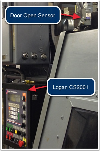 Logan CS2001 Controls Support Door Interlock and Start Interrupt Switch (Square D#9007C54B2)