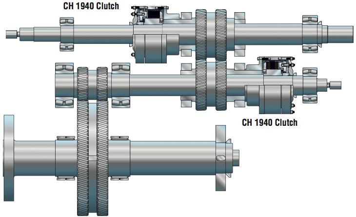 CH 1940 Clutch