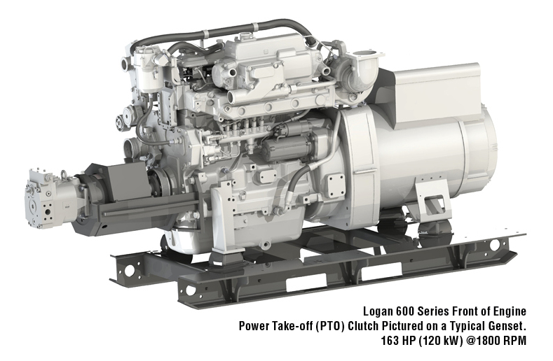 Logan Front of Engine Power Take-Off (PTO) Clutches